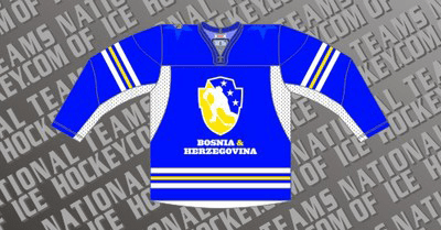 Bosnia Ice Hockey Jersey