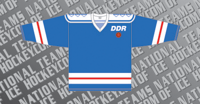 East Germany Ice Hockey Jersey