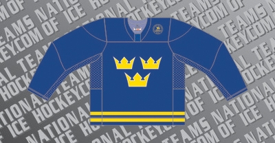 Sweden Ice Hockey Jersey